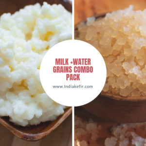 Combo PAck of Milk+water Grains