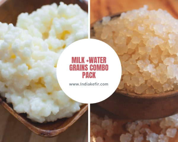 milk+water grains combo